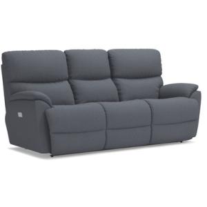 Trouper PowerRecline La-Z-Time Full Reclining Sofa w/ Power Headrest