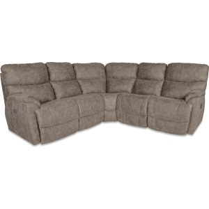 Trouper 4 PC Power Reclining Sectional