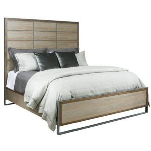 AD Modern Synergy Matrix Panel King Bed