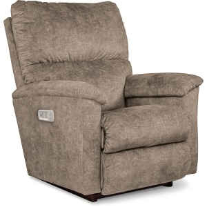 Brooks Power Rocking Recliner w/ Head Rest and Lumbar