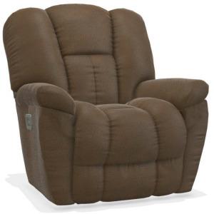 Maverick Power Rocking Recliner w/ Headrest and Lumbar