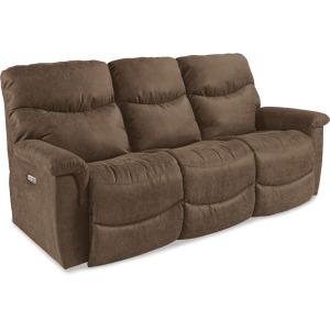 James Power Reclining Sofa with Headrest