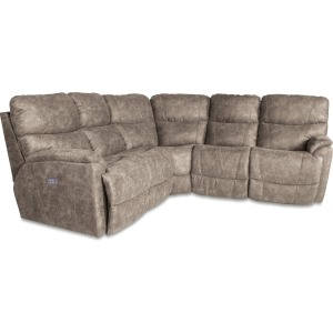 Trouper 3 PC Reclining Sectional