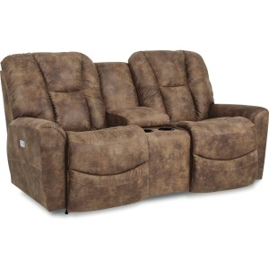 Rori Power Reclining Loveseat w/ Headrest & Console