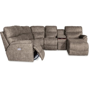 Trouper 4 PC Reclining Sectional