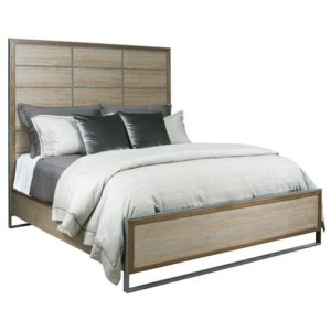 AD Modern Synergy Matrix Panel Queen Bed