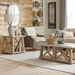 Junction Truss End Table