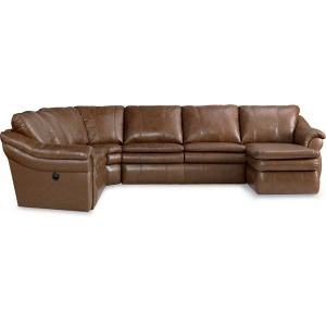 Devon Leather Sectional