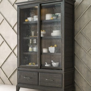 Plank Road Darby Display Cabinet