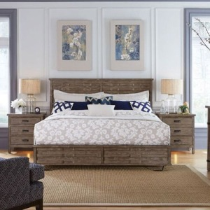 Foundry Panel King Bed