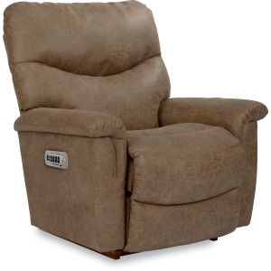 James Power Rocking Recliner w. Head Rest & Lumbar
