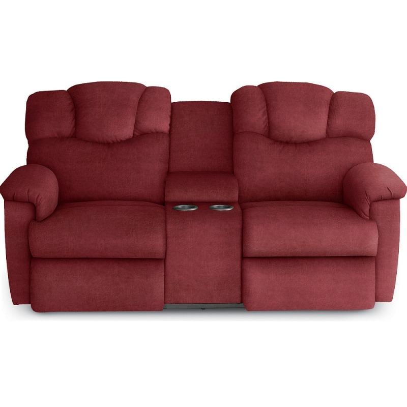 Stupendous Lancer Reclining Loveseat W Console By La Z Boy Furniture Inzonedesignstudio Interior Chair Design Inzonedesignstudiocom