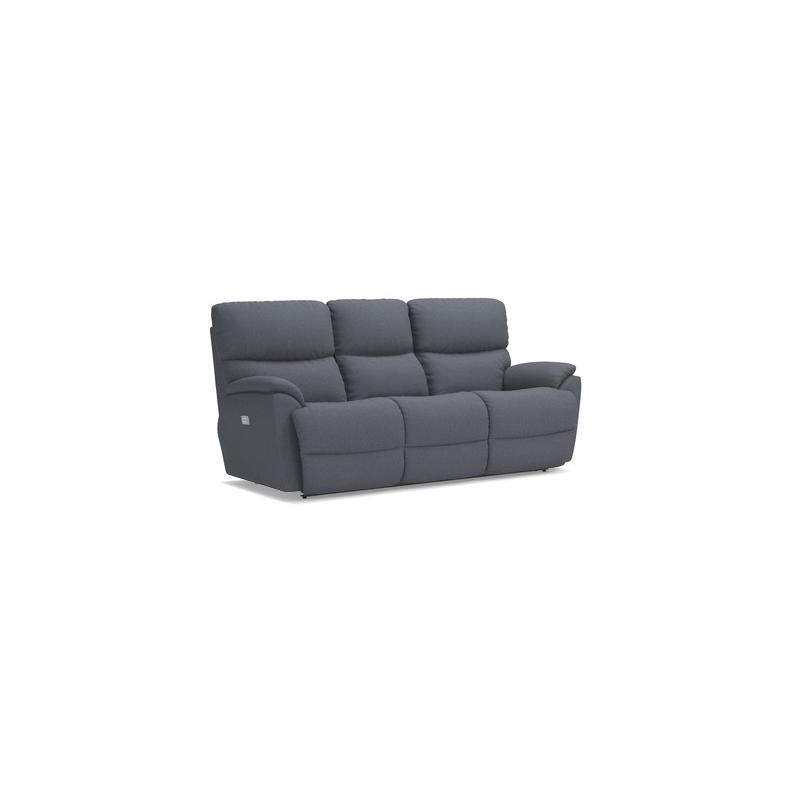 Trouper PowerRecline La-Z-Time® Full Reclining Sofa w/ Power Headrest