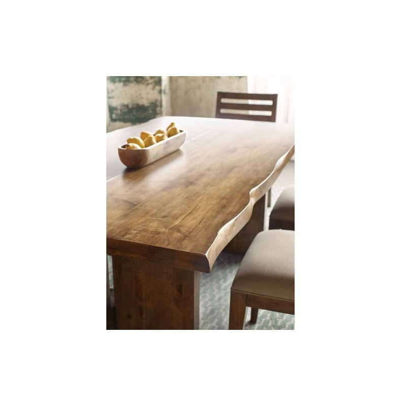 Traverse Cutler Live Edge Dining Table by La-Z-Boy Furniture - 660 ...