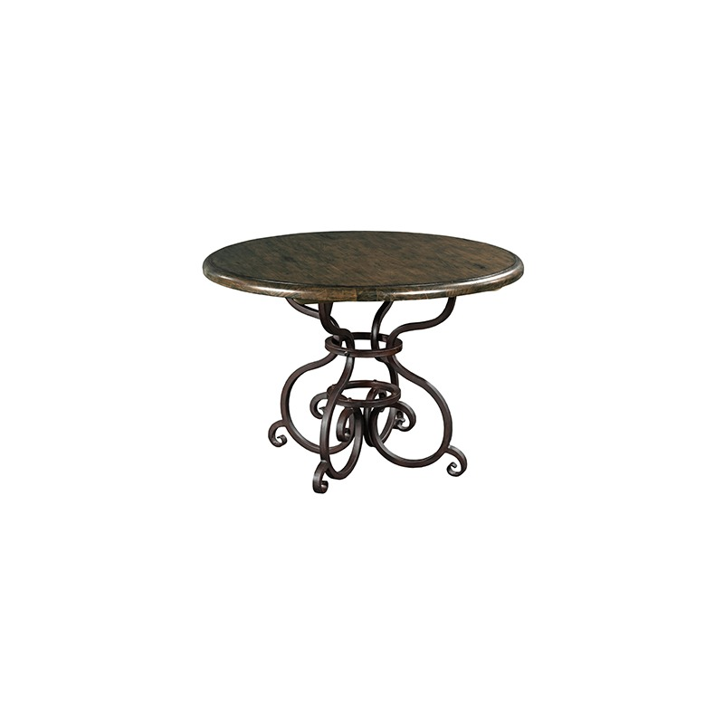 S Pe 44in Round Dining Table