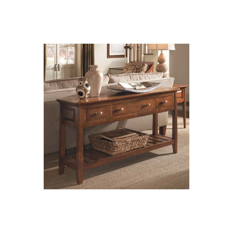 Cherry Park Sofa Table by La-Z-Boy Furniture - 63-025V ...