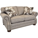 Lexington Loveseat w/Natural Nails