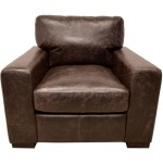 Wow Leather Chocolate Chair