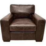 Wow Leather Chocolate Chair