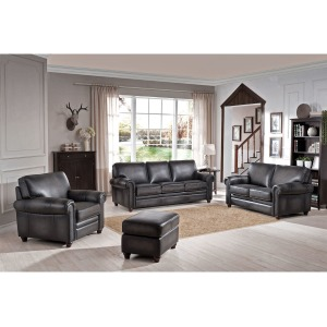 Oakley Smoke 3PC Living Room Set