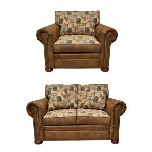 LAC 785 Loveseat & Chair