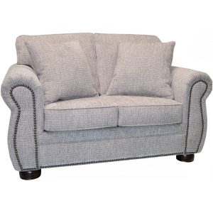 Kitty Hawk Loveseat w/Natural Nails