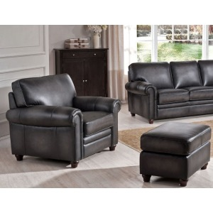 Oakley-Smoke Chair and Ottoman