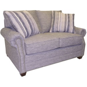 Middleton Loveseat W/Silver Nails