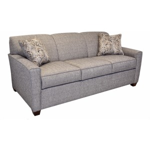 "Fayetteville Queen Sleeper Sofa with 5"" Memory Foam Mattress"