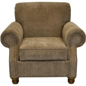 Orlando Chair w/Brass Nails