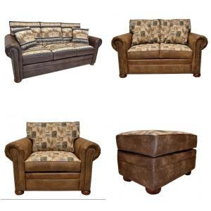 LAC 785 Sofa,Love,Chair,& Ottoman