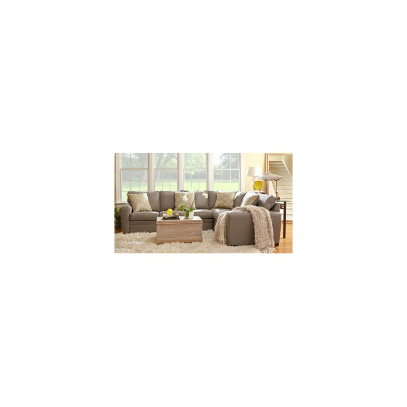 Simmons Manhattan Left Arm Facing Sofa Sectional - Arm Designs