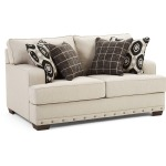 Bravaro Loveseat - Old Forge Linen Beige