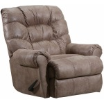 Leo Power Rocker Recliner in Cortez Sand