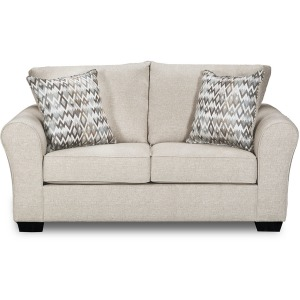 Boston Linen Loveseat