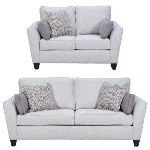 Sofa & Loveseat Set - Bennington Stone
