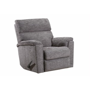 Ronan Swivel Glider Recliner - Handwoven Pewter
