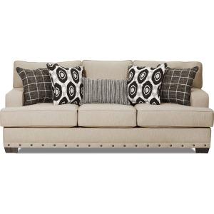 Bravaro Sofa- Old Forge Linen Beige