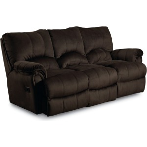 Alpine Pad-Over-Chase Double Reclining Sofa