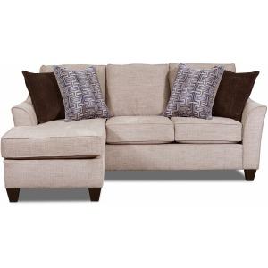 Sheffield Sofa w/Chaise - Alamo Taupe
