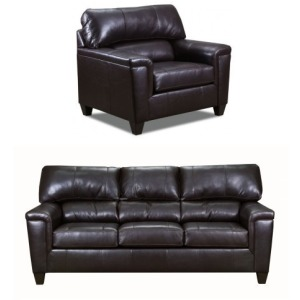 Montego Sofa & Chair Set - Soft Touch Bark