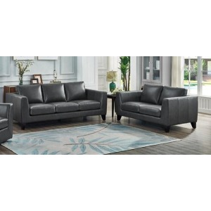 Chicago Sofa & Loveseat Set - Peacock