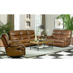 Baker Leather Recliner Chair