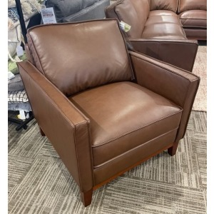 Entrada Brown Leather Chair