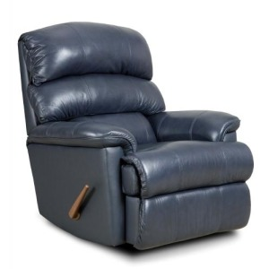 Derby Leather Rocker Recliner Chair