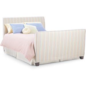 Slipcovered Queen Bed