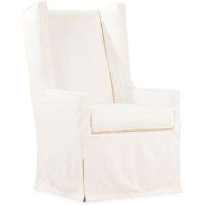 Slipcovered Host Chair