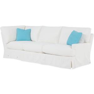 Slipcovered Cornering Sofa
