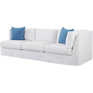 Slipcovered Cornering Sofa