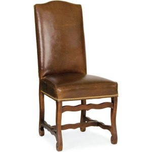 Leather Hostess Chair